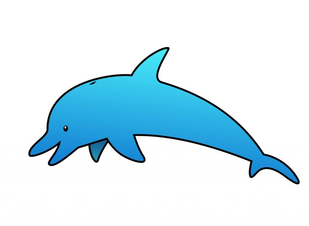 dolphin clipart bottlenose dolphin