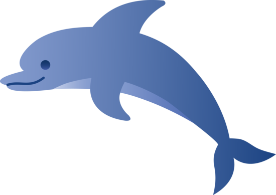 Dolphin clipart bottlenose dolphin. Free collection cute animal