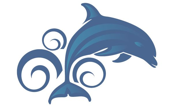 Dolphin clipart bottlenose dolphin. Cartoon at getdrawings com