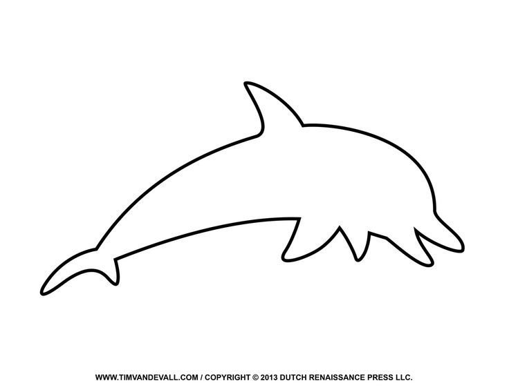 Dolphin clipart bottlenose dolphin. Traceable