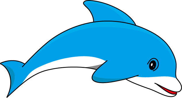 Dolphin clipart bottlenose dolphin. Cute baby free collection
