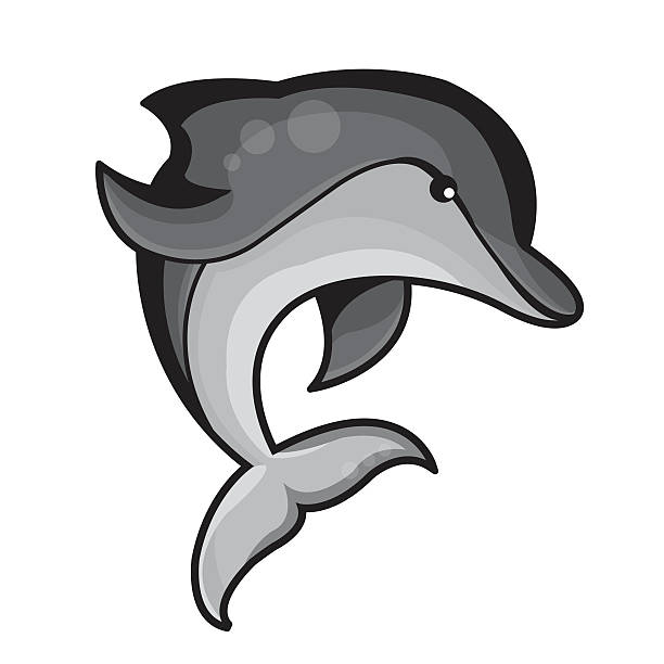 Dolphin clipart bottlenose dolphin. Animation pencil and in