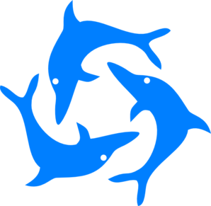 Dolphin clipart dolphin tail. Dolphins clip art library