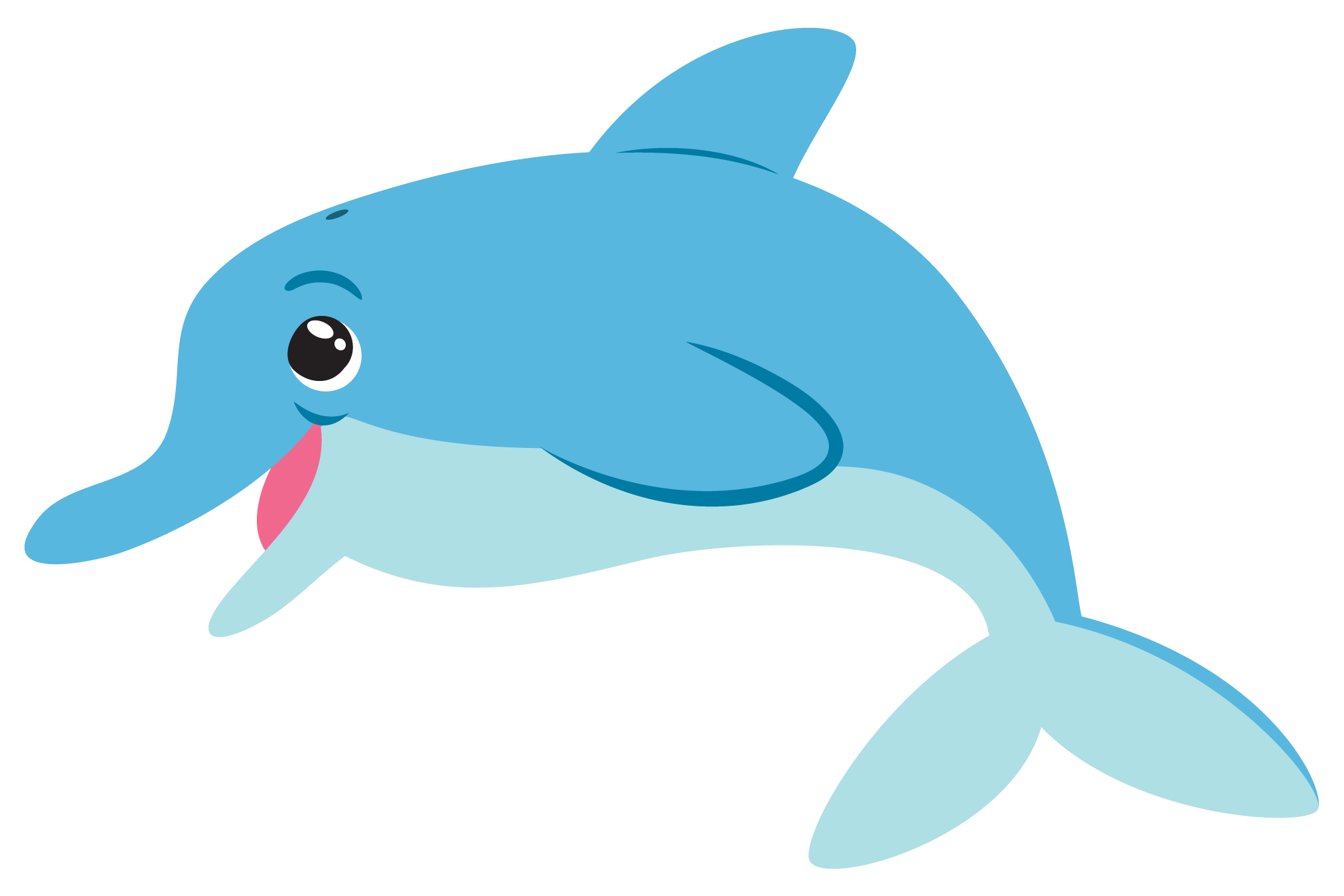 dolphin clipart vacation florida