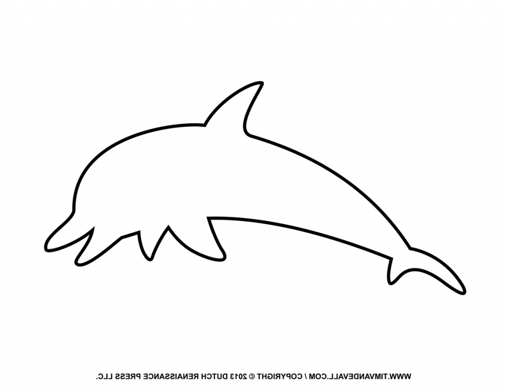 Dolphin clipart line. Pictures of outline drawing