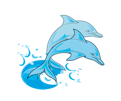 Dolphin clipart sad. Clipartaz free collection cute