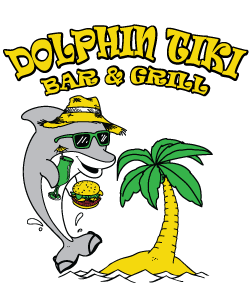 Dolphin clipart vacation florida. Tiki bar gril marco