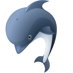 Dolphin icon png. Animal