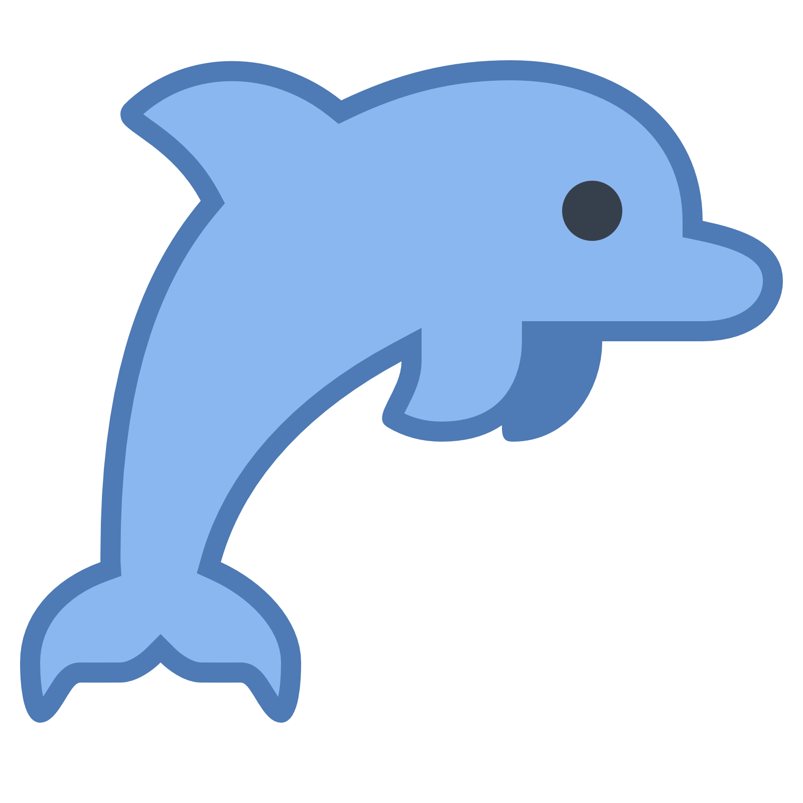 Dolphin icon png. Free download at icons