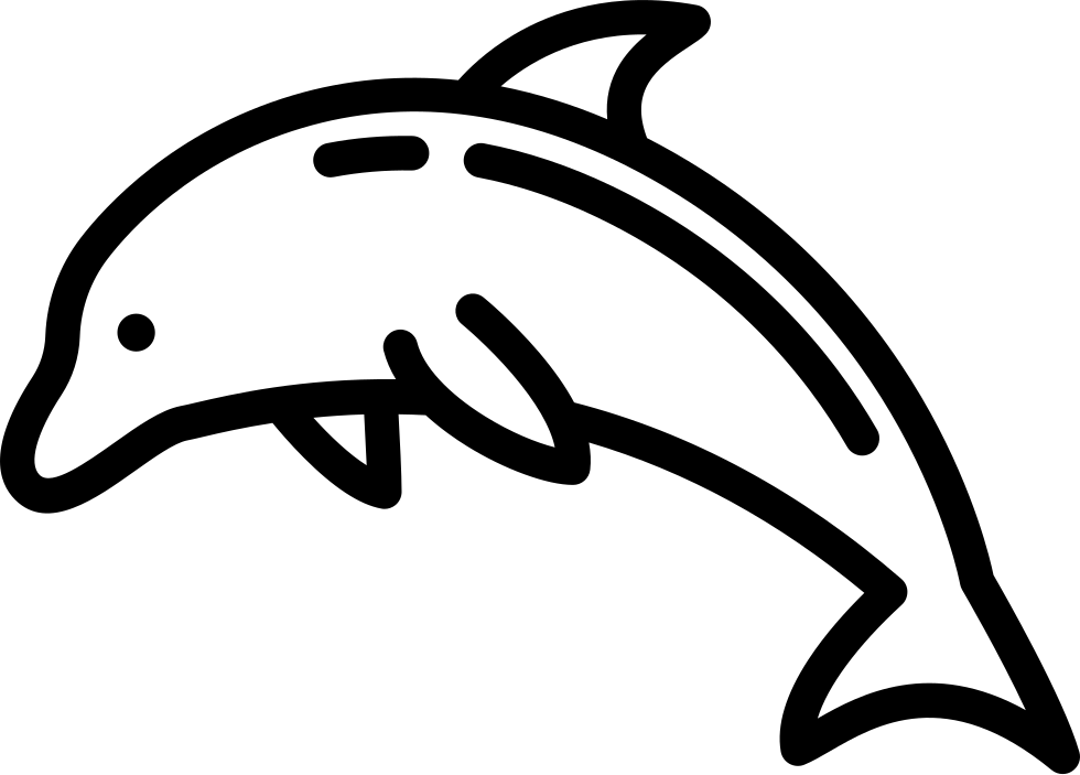 Dolphin icon png. Svg free download onlinewebfonts