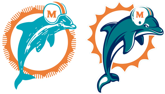 Dolphin logo png. Past and present dolphins