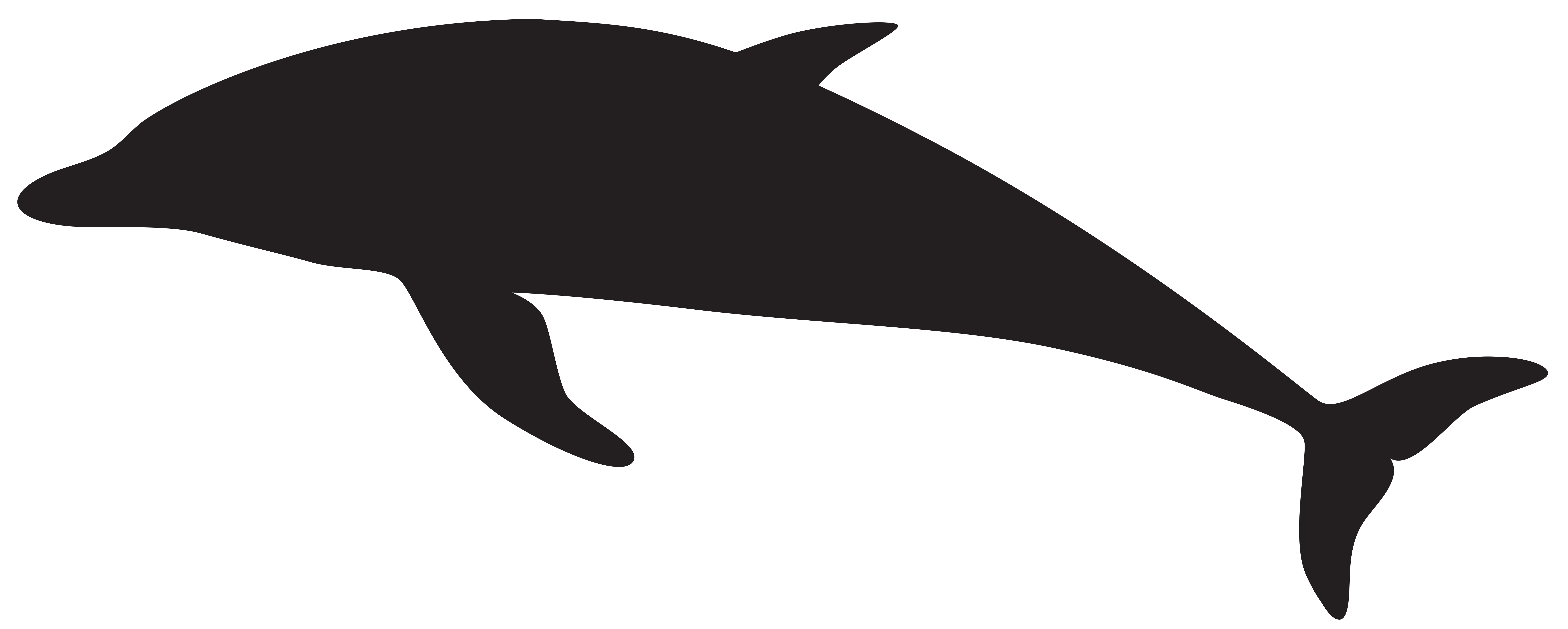 Dolphin silhouette png. Clip art image gallery