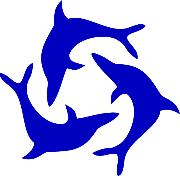 Dolphin tail png. Image clip art black