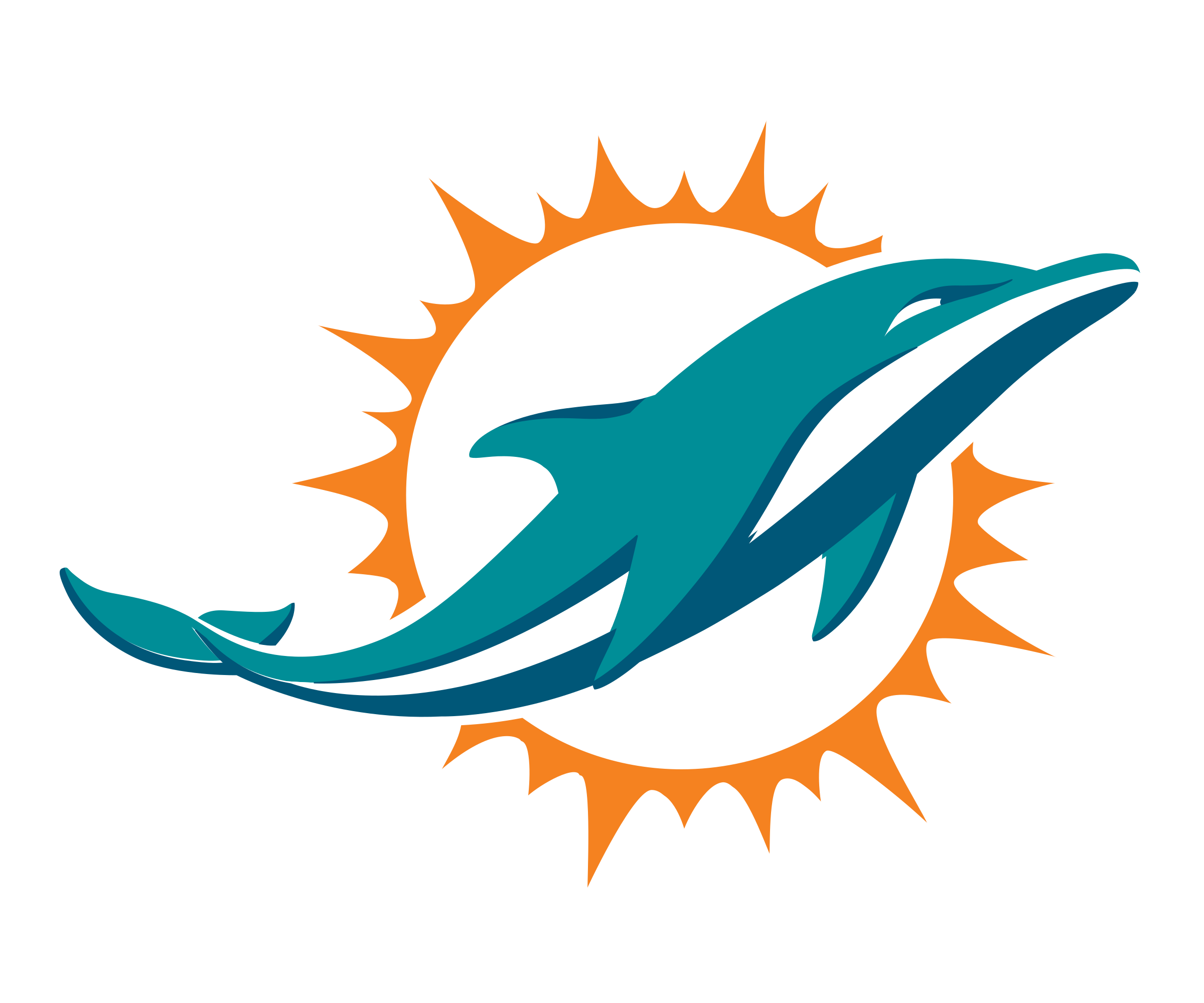 Dolphin vector png. Miami dolphins logo transparent