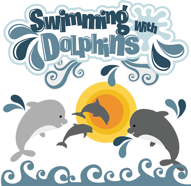 Swimming clipart scrapbook. Free dolphin cliparts download