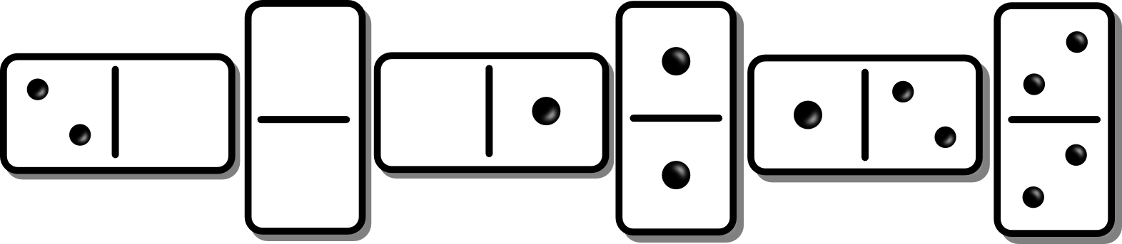 Domino clipart animated.