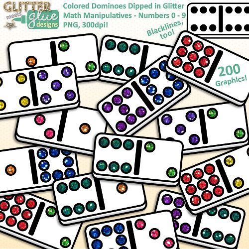 Domino clipart dice. Dominoes clip art math