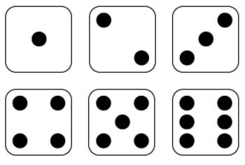 Domino clipart dot. Dice and dominoes graphics