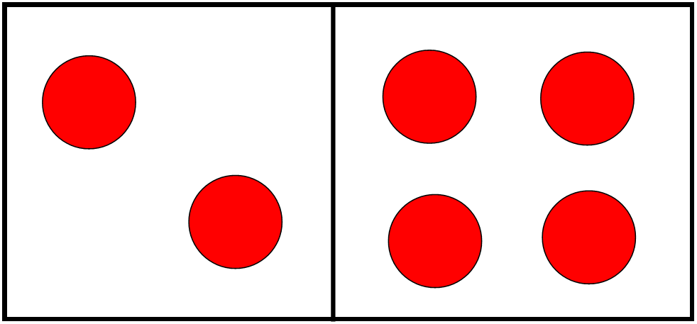 Domino clipart dot. Counting dots