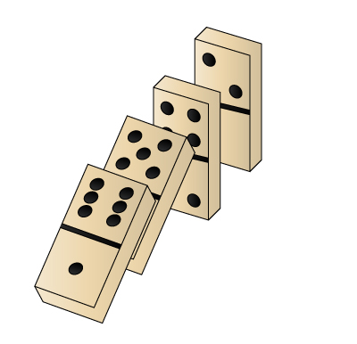 Domino clipart sketch. How to draw dominoes