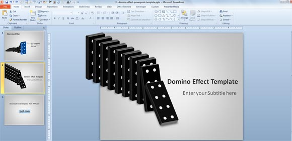 Domino clipart template. D free effect