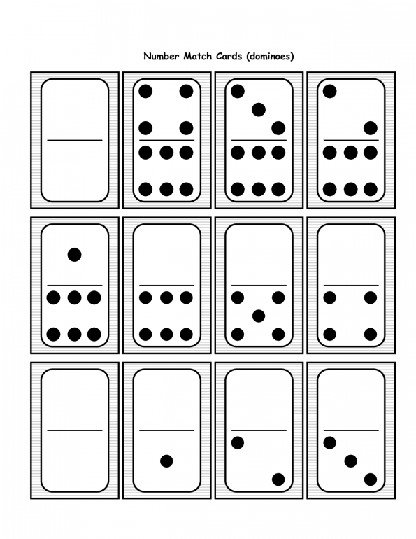 Domino clipart template. Printable colour dominoes dominos