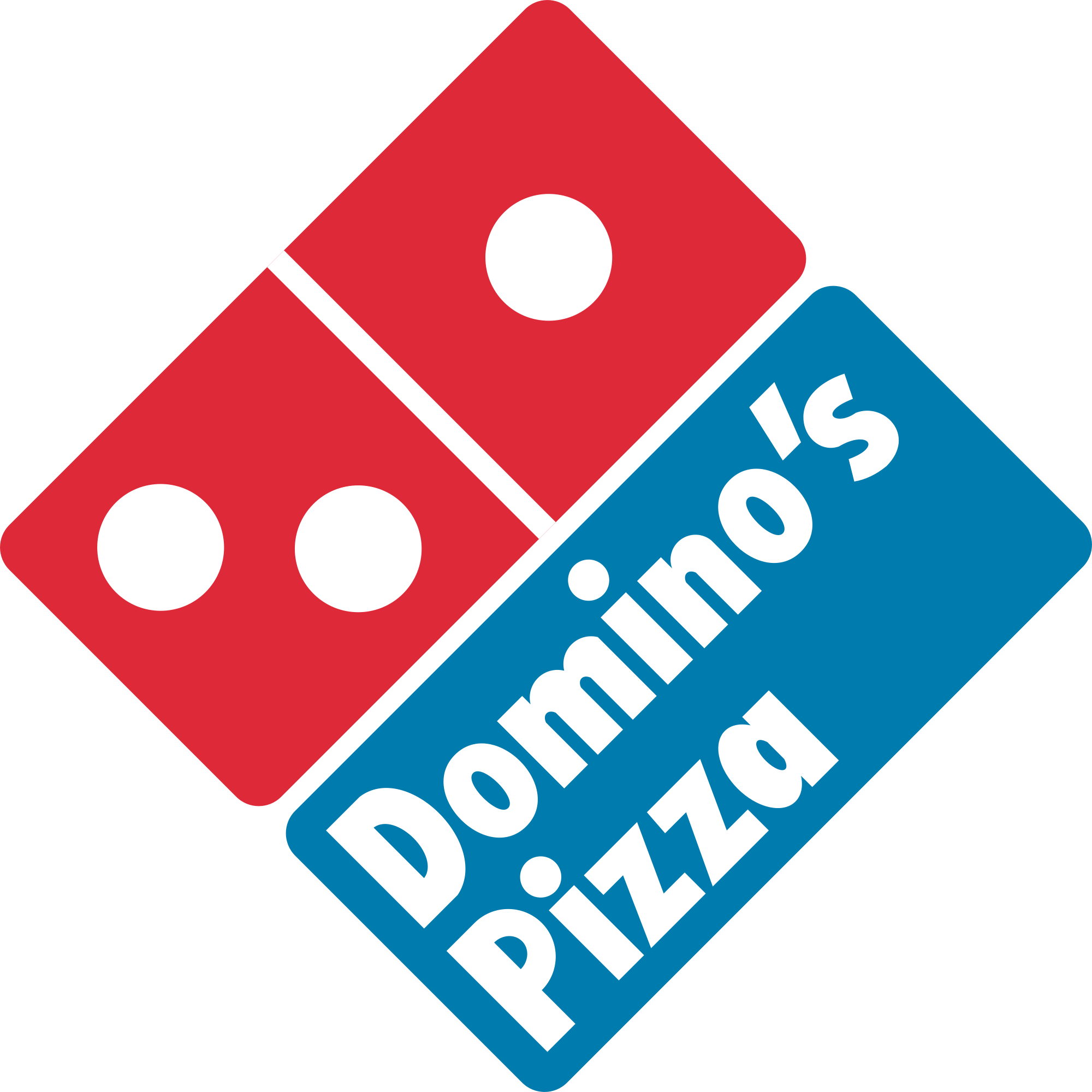 Domino's pizza png. Domino s logo transparent