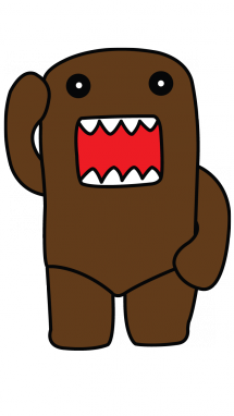 Domo drawing. How to draw kun