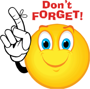 remember clipart forget