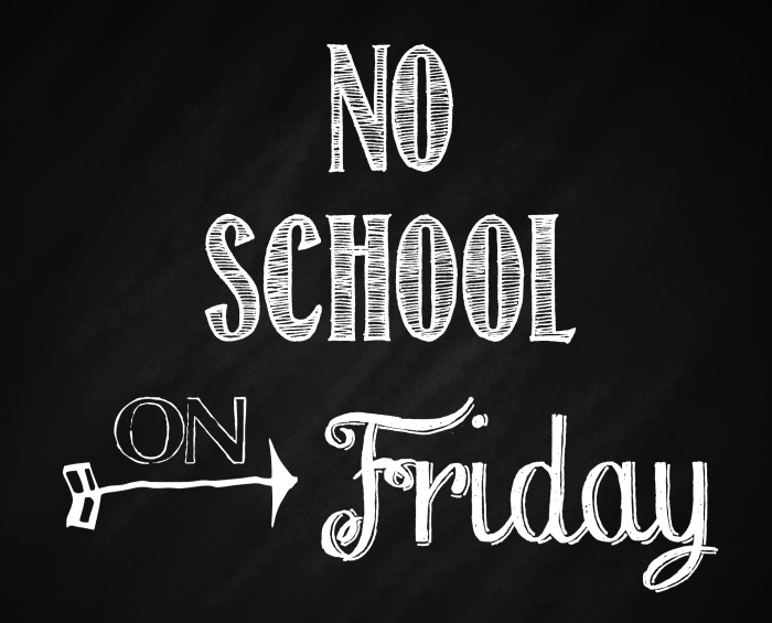 Don t forget clipart pa day. October swepta noschoolonfridaychalkboard dont