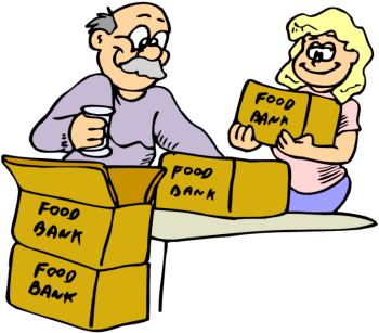 Pantry clipart packaged food. Donation clip art library