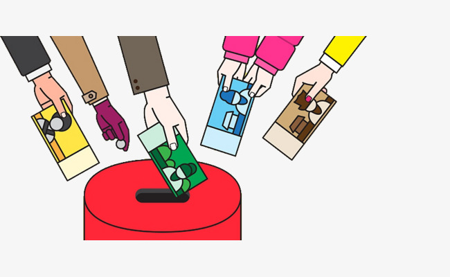Donation clipart. Illustrations enthusiastically aid donations