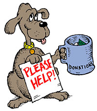 Shelter donations . Donation clipart animal rescue royalty free
