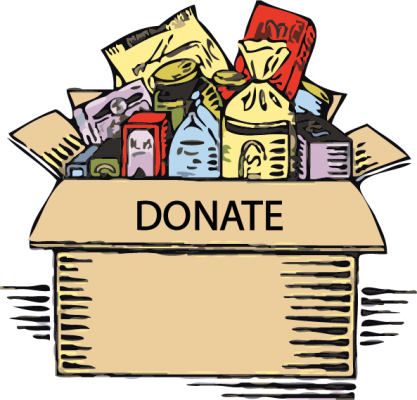 Donation clipart non perishable food. Donate st patrick s
