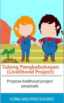 Donation clipart livelihood project. Request for assistance infrastructure