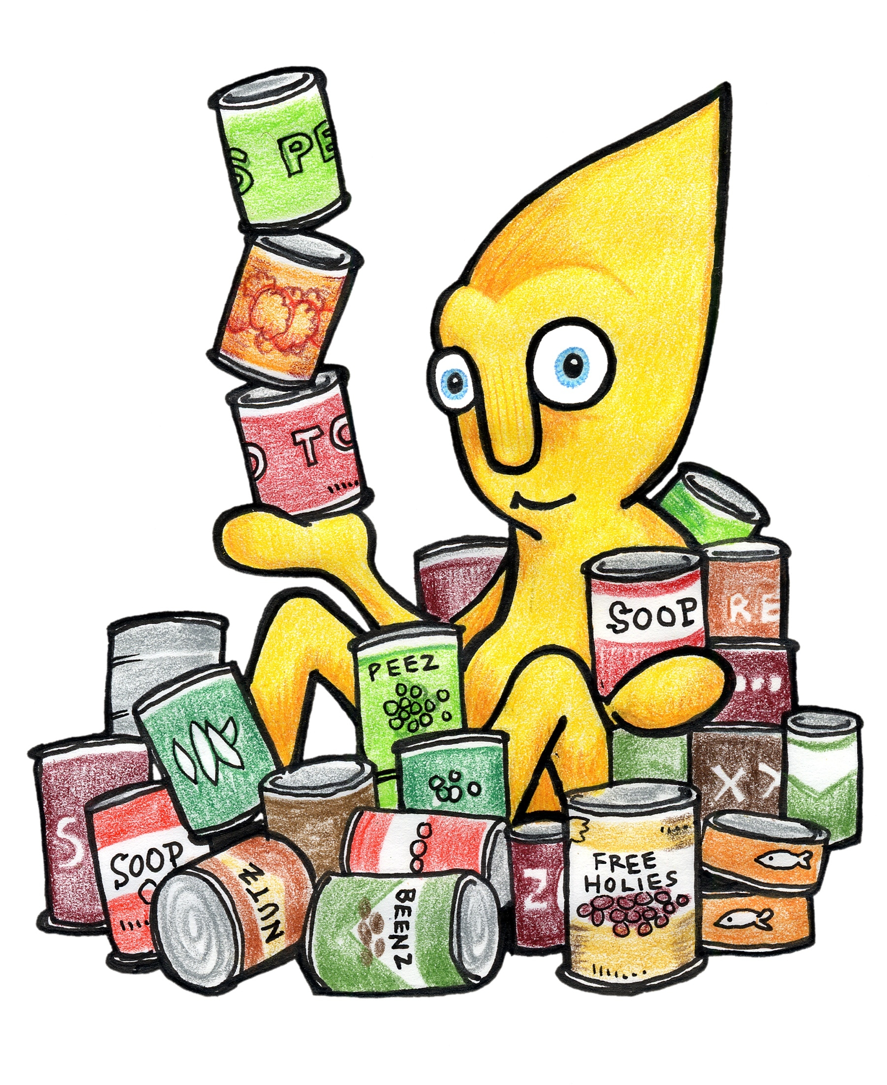 Donation clipart non perishable food. Letters panda free images
