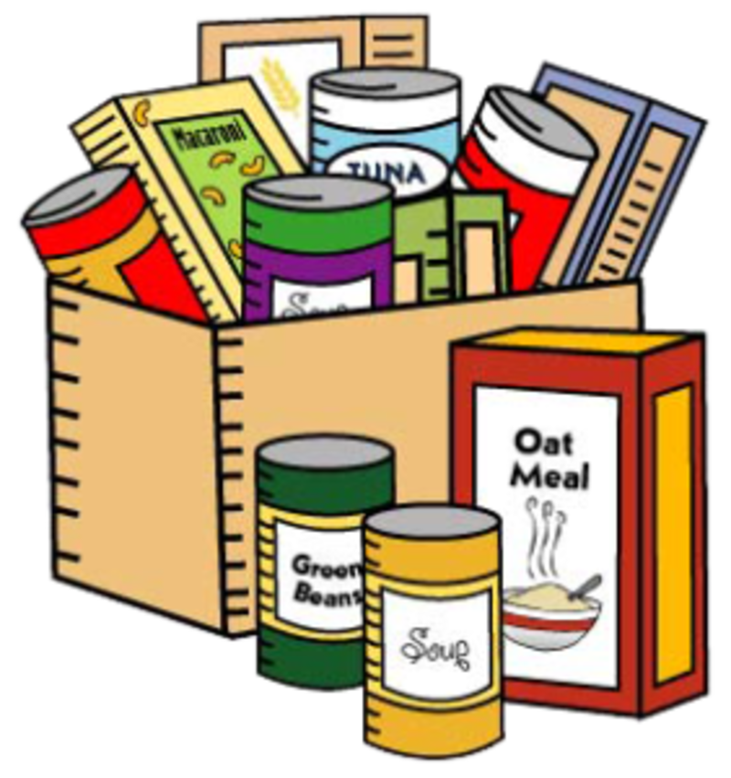 Donation clipart non perishable food. Trinity united methodist church