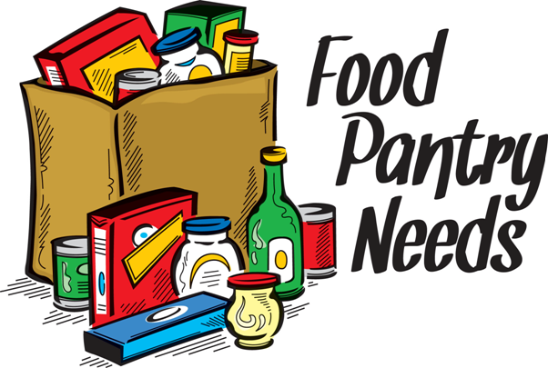 Donation clipart non perishable food. Linda s cupboard is