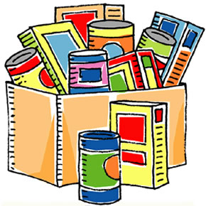 Donation clipart non perishable food.