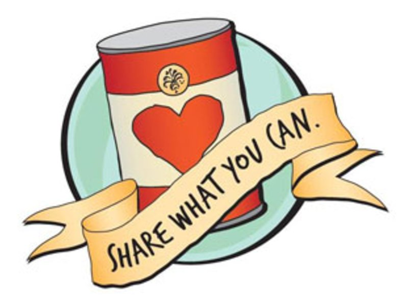 Donation clipart non perishable food. Halesite fd ladies auxiliary