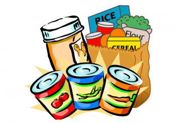 Donation clipart non perishable food. Seymour herald newspaper pay