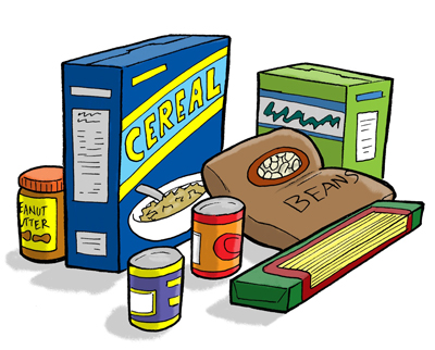 Donation clipart non perishable food. The wish project drawing