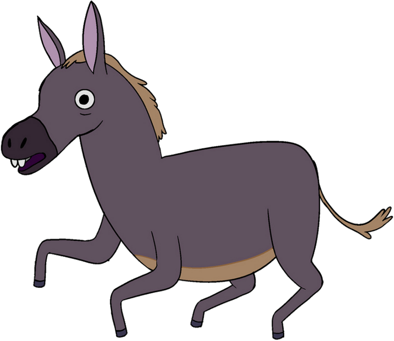 Donkey png. Image adventure time wiki