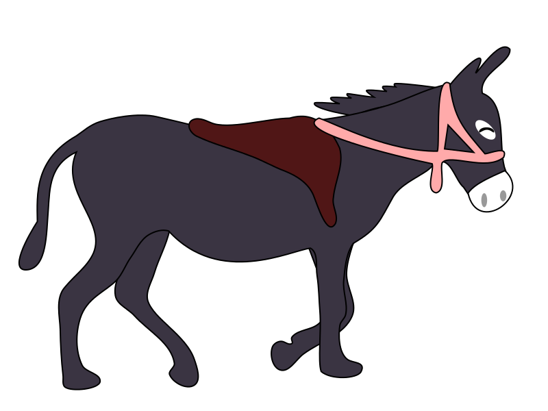 Mule clipart horse tooth. Free donkey download clip