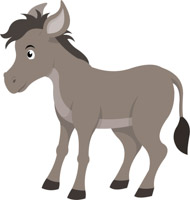 Donkey clipart. Free clip art pictures