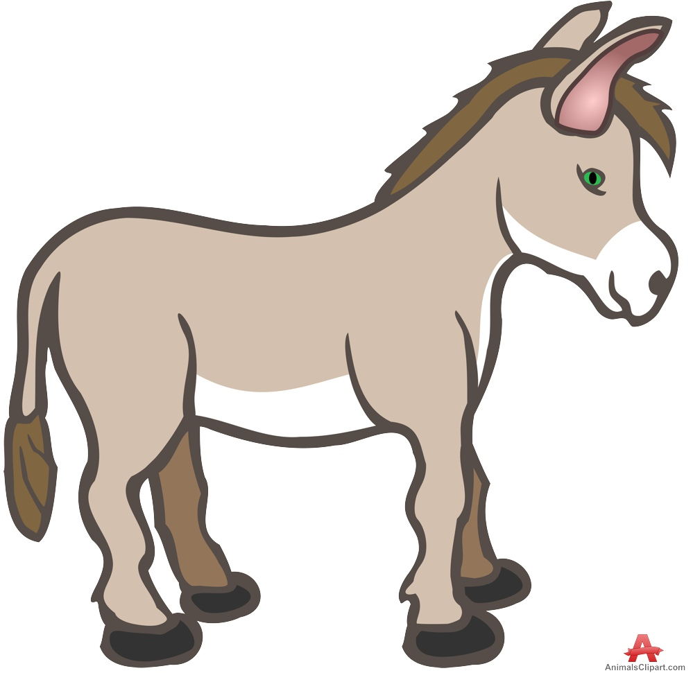 Donkey clipart. Free pictures illustrations clip