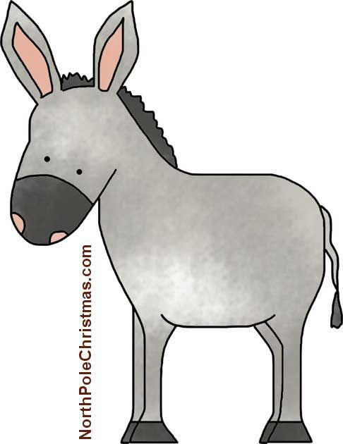 Mule clipart nativity donkey. Projects to try pinterest