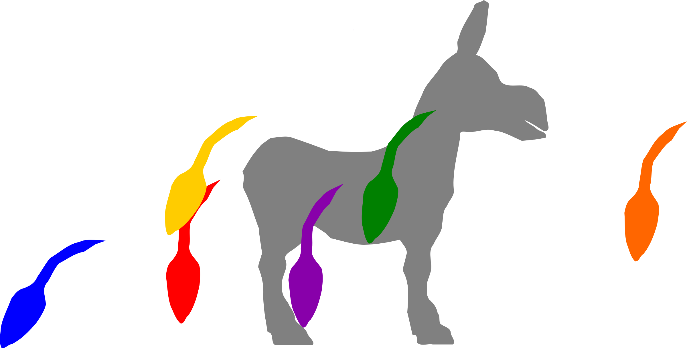 Donkey clipart pin the tail on donkey. Icons png free and
