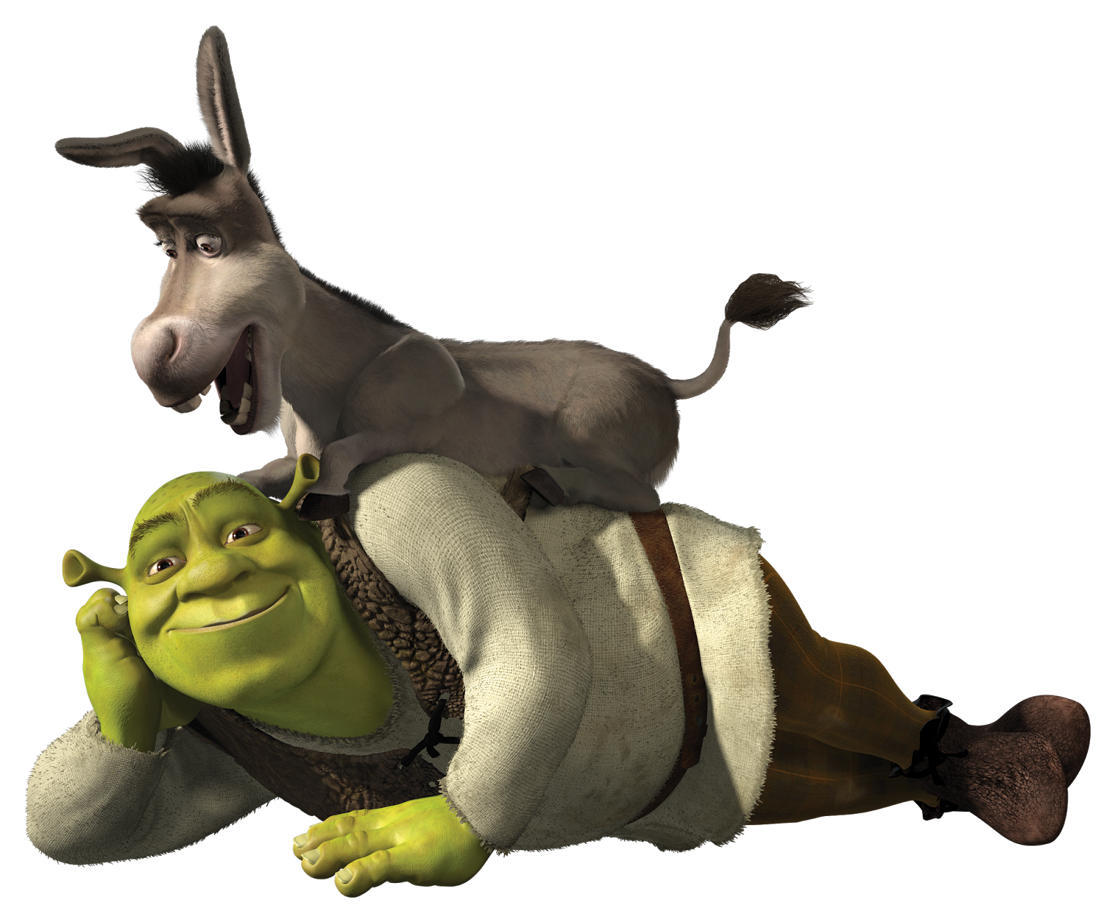 shrek and donkey png