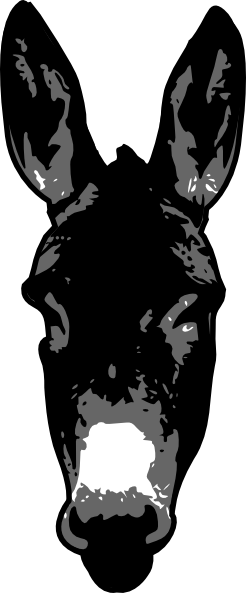 Donkey head png. Clip art at clker
